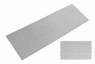 (1m²=29,75€) ALUGITTER in SCHWARZ Typ 1 sehr feinmaschig 135x30cm RENNGITTER