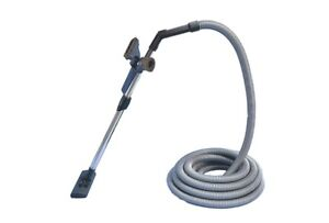 VALET DUCTED VACUUM CLEANER HOSE KIT 9M WITH ROD, FLOOR HEAD + BONUS