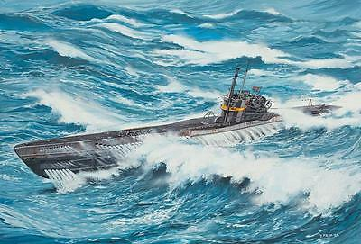 Revell Deutsches U-Boot TYPE VII C/41 Atlantic Version 1:144 Revell 05100  X