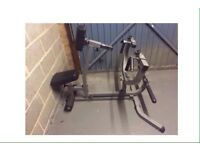 BODY SOLID SEATED ROW MACHINE - EXERCISE GYM FITNESS EQUIPMENT