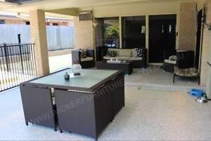 NEW 6 Pieces Wicker Outdoor Furniture Lounge Melbourne Melbourne CBD Melbourne City Preview