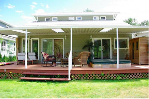 Riverfront Home in Sought After Neighbourhood - Sicamous, BC