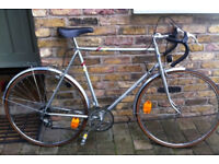 French vintage touring road bike RAYMOND POULIDOR frame size 22inch - 12 speed serviced WARRANTY