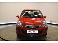 2013 VAUXHALL CORSA HATCHBACK SPECIAL E