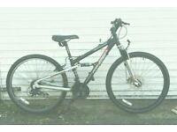 Aluminium frame dual suspension bike
