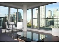 SPACIOUS 2B, DESIGNER FURNISHED,LEISURE FACILITIES,IN BALTIMORE WHARF, NORTH BOULEVARD, CANARY WHARF