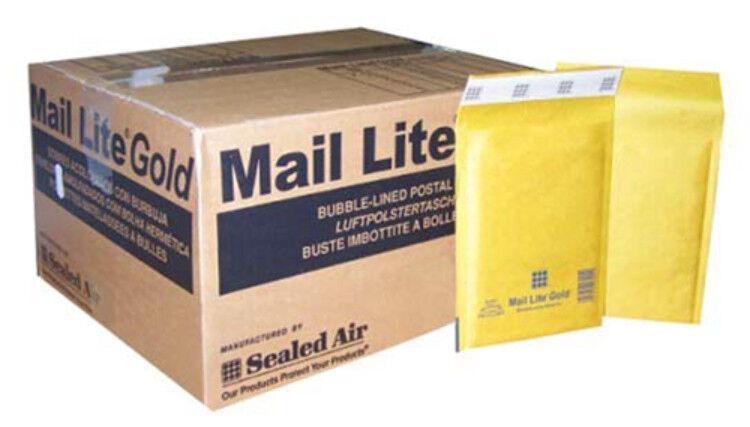 Mail lite gold padded envelope b/00 100 600