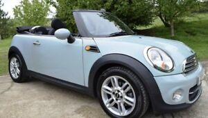 2013 Ice Blue Mini Convertible