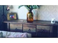 Wooden sideboard from next .. immaculate and gorgeous selling due to move
