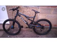 Full suspension mountain bike £300 or £260 ono