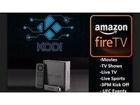 Amazon Fire Stick with KODI 16.1 *FULLY LOADED*