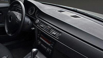 Auto Carbon Folie Schwarz Kohlefaser  200 x 60 cm 3D Klebefolie Car Wrapping