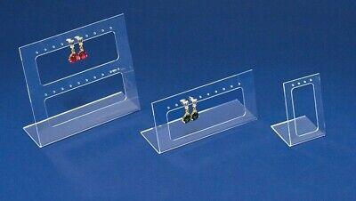 Acrylic Jewelry Earring Display Set Earring Holder Earring Organizer Lot Of 3 Pc