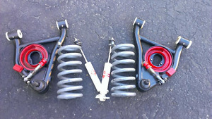 G Body,  Global West LCAs and Hotchkis lowering springs,etc.