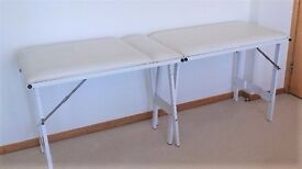 A Beautician/Health/Massage Folding Couch