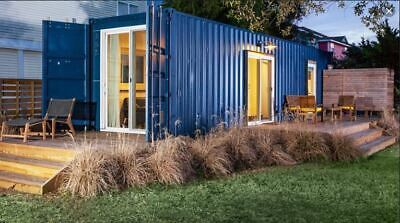 40ft Shipping Container Home 1 Bd1 Bth With Kitchliv 320 Sqft