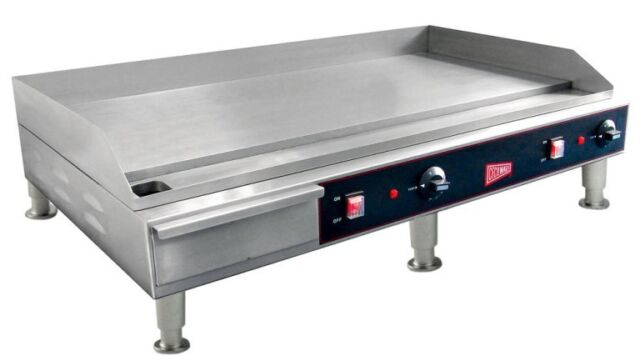 "Restaurant Kitchen Grill countertop electric griddle 36"" restaurant kitchen commercial flat"