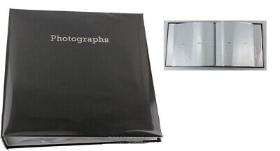 6'' x 4'' Memo Slipin Photo Album Holds 140 Photos Photography Storage - BLACK