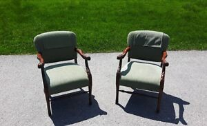 Antique Armchairs $550 obo