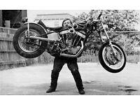 Harley Davidson Frame & V5c WANTED