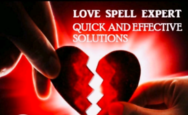 Black magic healer,bringing ex love partner back,spell caster,solution