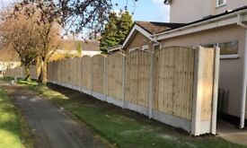 ☃️New Arch Top Fence Panels // High Quality