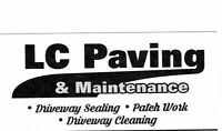 PAVING and MAINTENANCE  Call Walter 233-3207