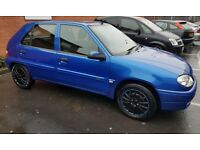 Citroen Saxo with genuine low-miles, solar roof & Airbag