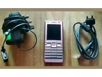 Pink Sony Ericsson k770i Cybershot, Vodafone.