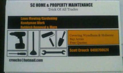 SC HOME & PROPERTY MAINTENANCE