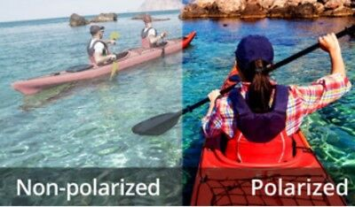 Polarized Sunglasses Single Vision Replacement Prescription  Plastic Lenses