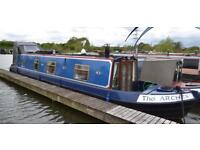 GORGEOUS Narrow Boat, House Boat, Canal Boat