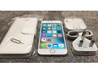 iphone 6 16GB gold unlock any network! Phone working perfect!