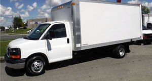 GMC Savana 1 Tonne 16' Cube Van