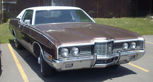 Wanted :  1971 or 1972 Ford Ltd  ( Galaxie ,