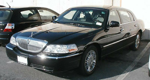 As is selling Lincoln town car