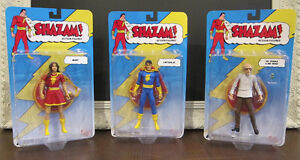 Shazam! Action Figure Lot - BNIB