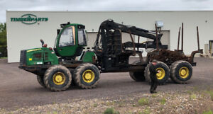 2011 John Deere 1910E Forwarder (FOR PARTS)