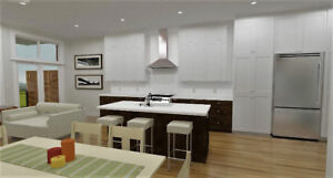 Brand new semi-detached 4 bed, 4 bath home on a corner lot- West