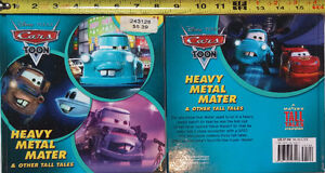 Disney Pixar Cars Toon Heavy Metal Mater and Other Tales Book