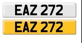 Cherished transfer number plate