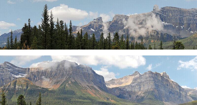 """id Backscenes OO Gauge """"Rockies"""" Pack A Self-Adhesive Polypropylene # P260A"""