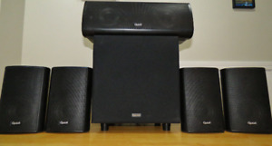 Quest 5.1 Speaker System & Powered Sub Woofer. GREAT Sound