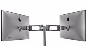 Boa Double Arm Monitor Stand from Monitors in Motion