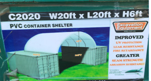 PVC Container Shelter