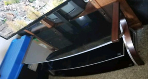 TV Stand with attached mount.