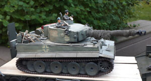 SOLD !!  HL 1/16 Tiger Tank R/C remote control highly detailed