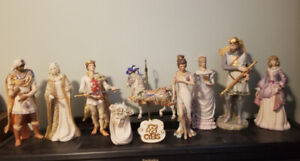 Large Selection of Cybis Porcelain Figurines