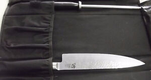 """SHUN VG-MAX DAMASCUS KNIFE HAND CRAFTED IN JAPAN 10"""" Windsor Region Ontario image 2"""
