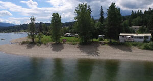 41,000 SF Waterfront Lot w/500 ft of LAKE FRONT@2457/2449 Blind